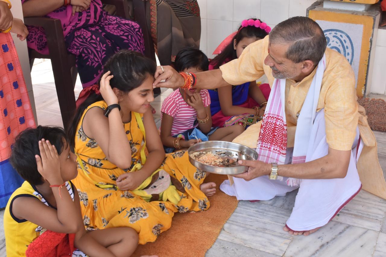 लखनऊ : हवन-पूजन के साथ आठ दिवसीय श्री दुर्गा सप्तशती पाठ का हुआ समापन